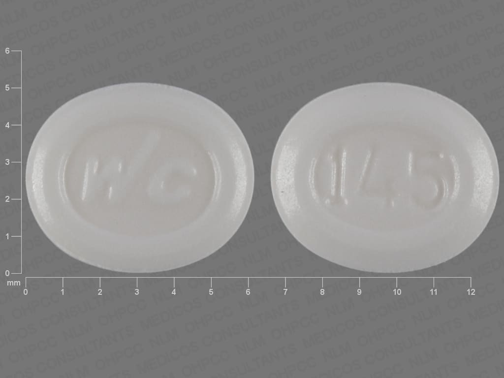 Imprint WC 145 - femhrt ethinyl estradiol 0.0025 mg / norethindrone acetate 0.5 mg