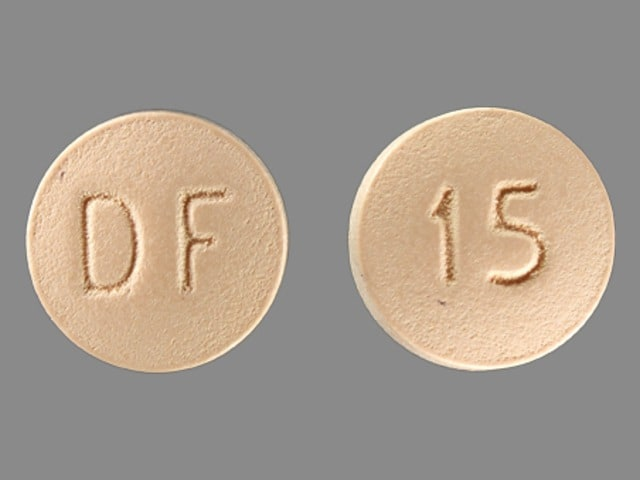 Imprint DF 15 - Enablex 15 mg