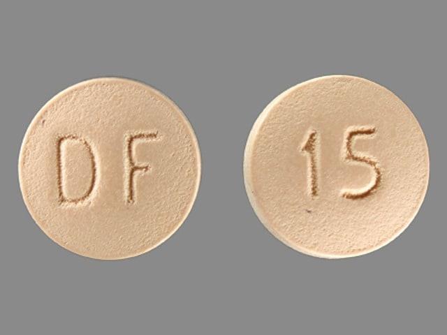 Imprint DF 15 - Enablex 15 mg