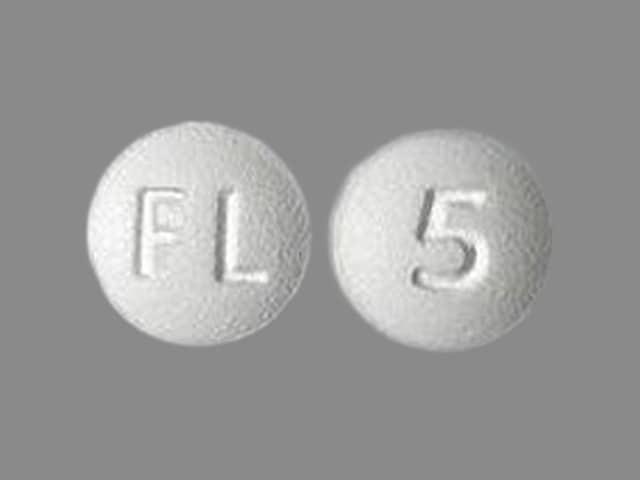Image 1 - Imprint FL 5 - Lexapro 5 mg