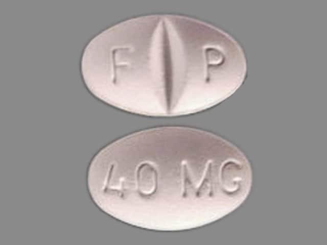 Imprint F P 40 MG - Celexa 40 mg