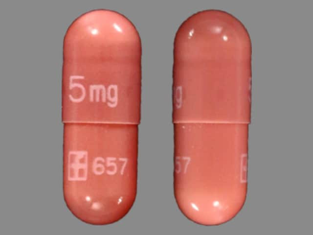 Imprint 5mg LOGO 657 - Prograf 5 mg
