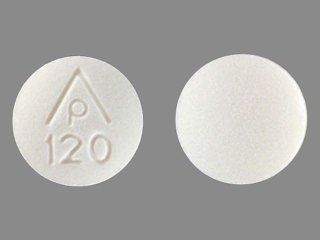 Imprint AP 120 - sodium bicarbonate 5 grain (325 mg)