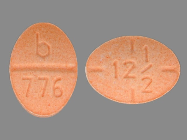 Imprint b 776 12 1/2 - amphetamine/dextroamphetamine 12.5 mg