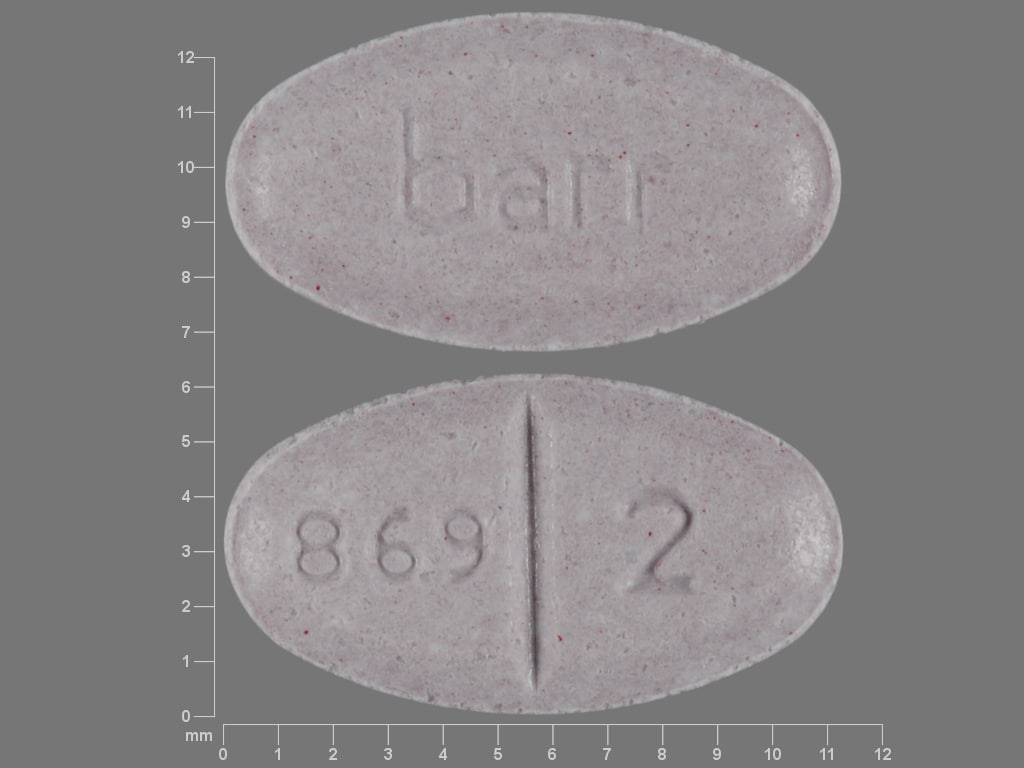 Image 1 - Imprint barr 869 2 - warfarin 2 mg