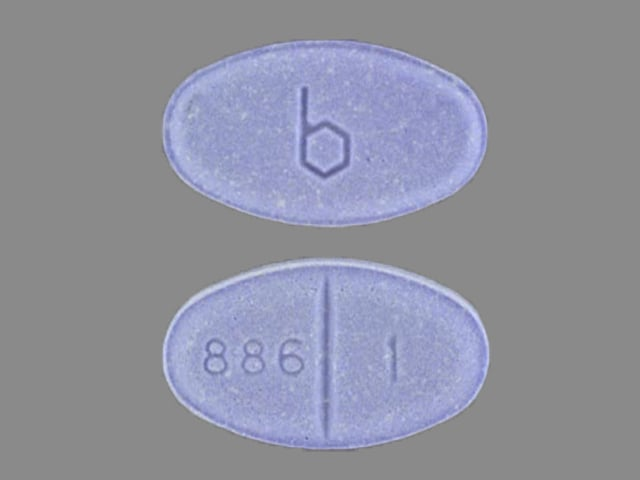 Image 1 - Imprint b 886 1 - estradiol 1 mg