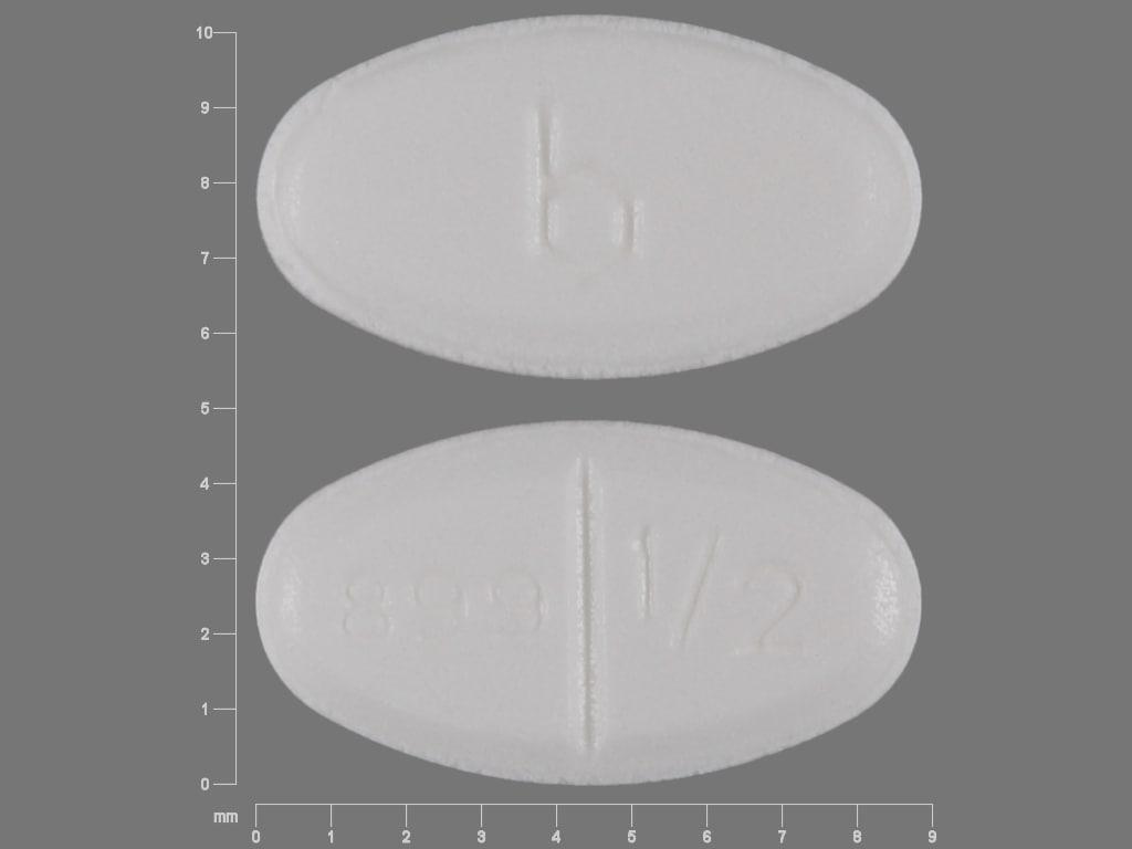 Image 1 - Imprint b 899 1/2 - estradiol 0.5 mg