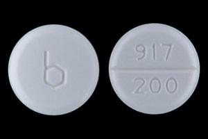 Imprint b 917 200 - amiodarone 200 mg