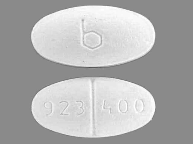 Imprint b 923 400 - ethambutol 400 mg