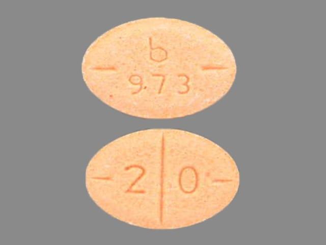 Imprint b 973 2 0 - amphetamine/dextroamphetamine 20 mg