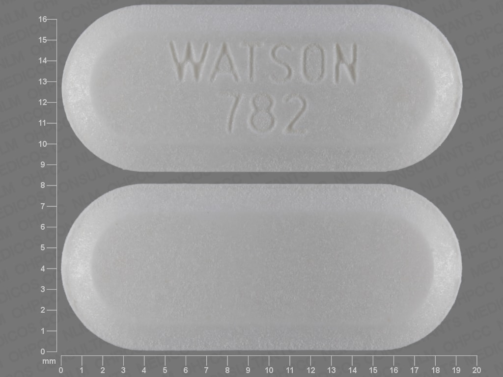 Imprint WATSON 782 - diethylpropion 75 mg