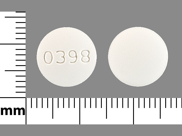 Imprint 0398 - diclofenac/misoprostol 75 mg / 0.2 mg