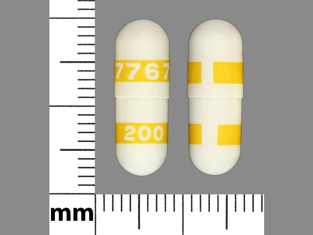 Imprint 7767 200 - celecoxib 200 mg