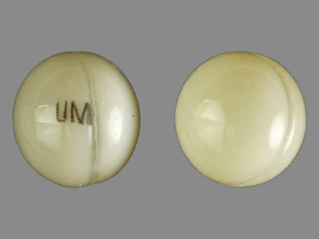 Imprint UM - dronabinol 2.5 mg