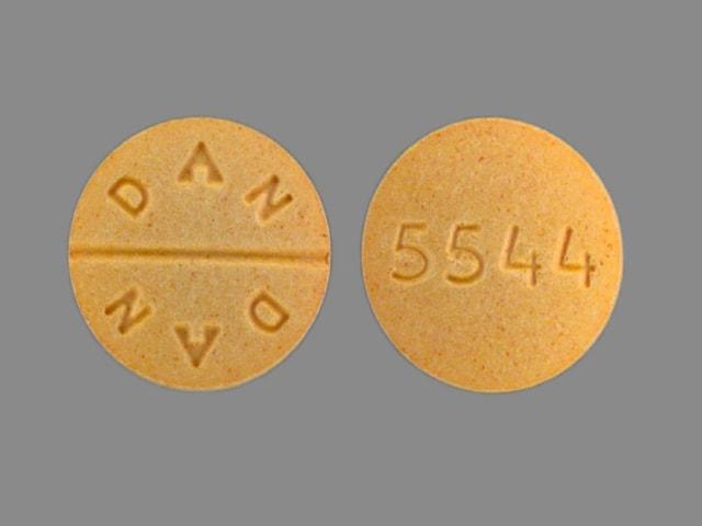 Imprint 5544 DAN DAN - allopurinol 300 mg