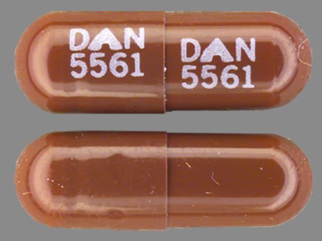Imprint DAN 5561 DAN 5561 - disopyramide 150 mg