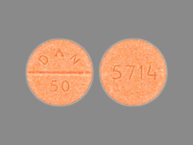 Imprint 5714 DAN 50 - amoxapine 50 mg
