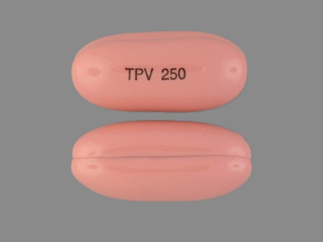 Imprint TPV 250 - Aptivus 250 mg