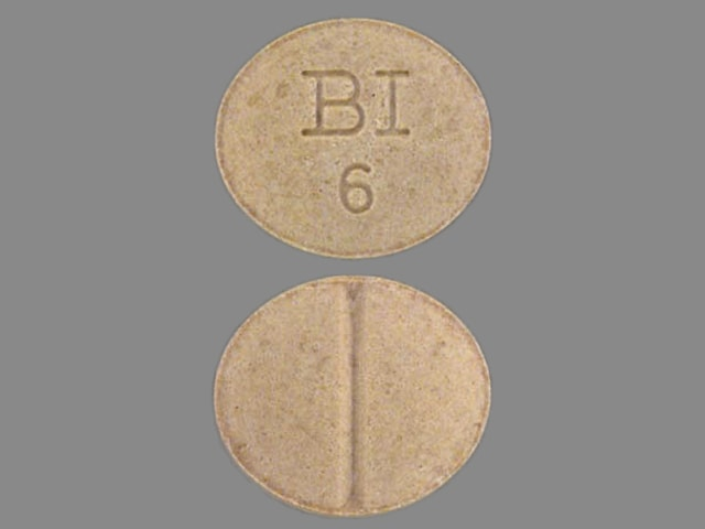 Imprint Bl 6 - Catapres 0.1 mg