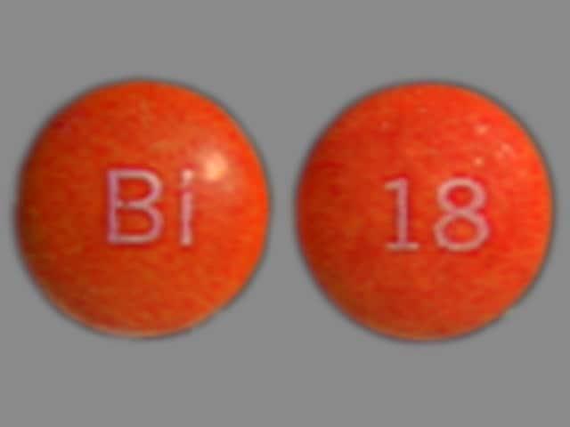 Imprint BI 18 - Persantine 50 mg