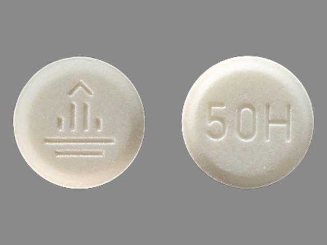 Imprint 50 H Logo - Micardis 20 mg