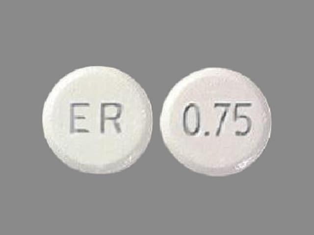 Imprint ER 0.75 - Mirapex ER 0.75 mg