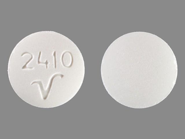 Imprint 2410 V - carisoprodol 350 mg