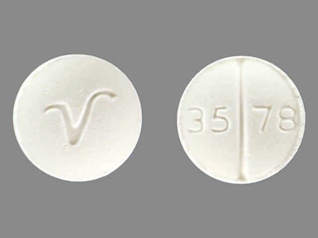 Imprint V 35 78 - hydrocortisone 5 mg
