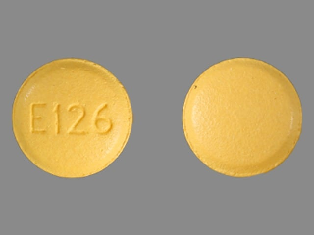Imprint E126 - letrozole 2.5 mg