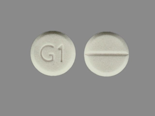 Imprint G1 - glycopyrrolate 1 mg