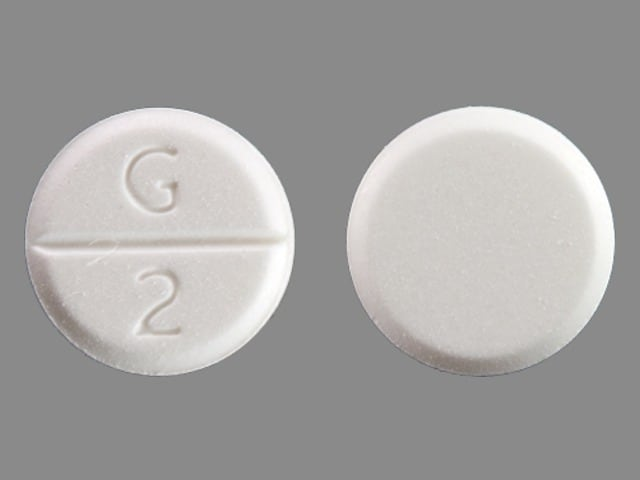 Imprint G 2 - glycopyrrolate 2 mg