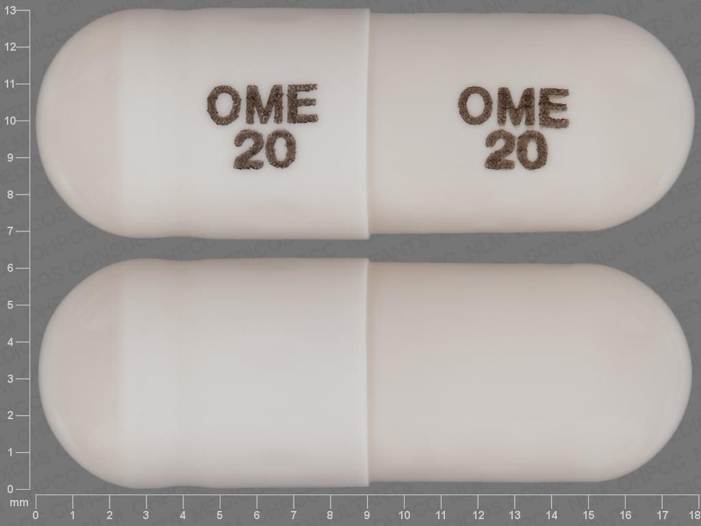 Image 1 - Imprint OME 20 OME 20 - omeprazole 20 mg