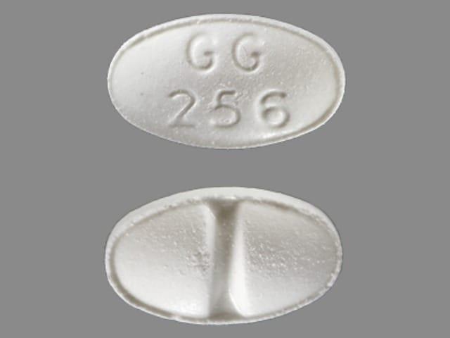 Imprint GG 256 - alprazolam 0.25 mg
