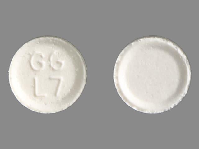 Image 6 - Imprint GG L7 - atenolol 25 mg