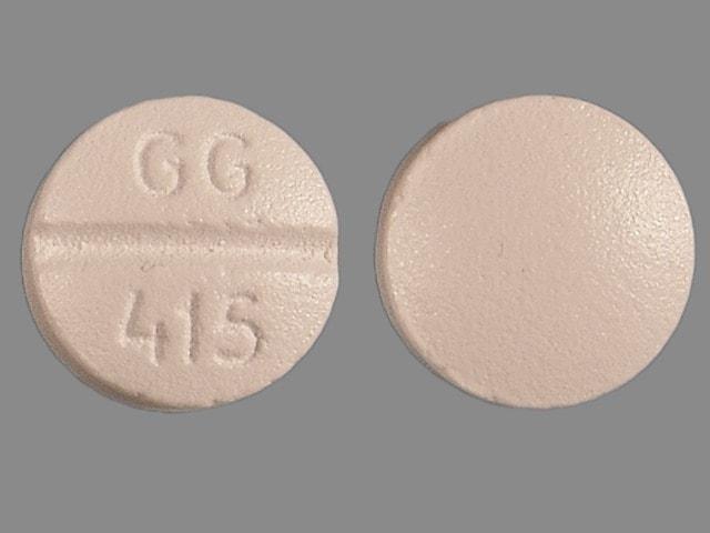 Imprint GG 415 - metoprolol 100 mg