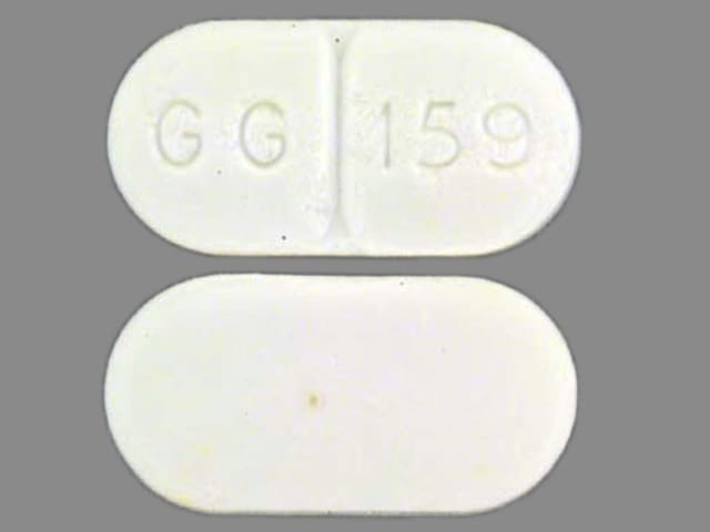 Imprint GG 159 - clemastine 1.34 mg