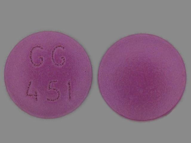 Image 1 - Imprint GG 451 - amitriptyline 75 mg