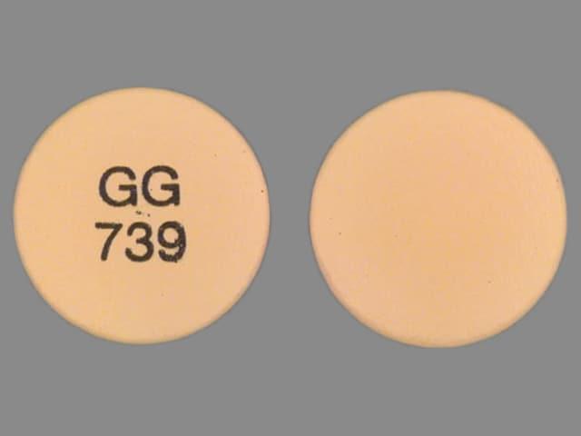 Imprint GG 739 - diclofenac 75 mg