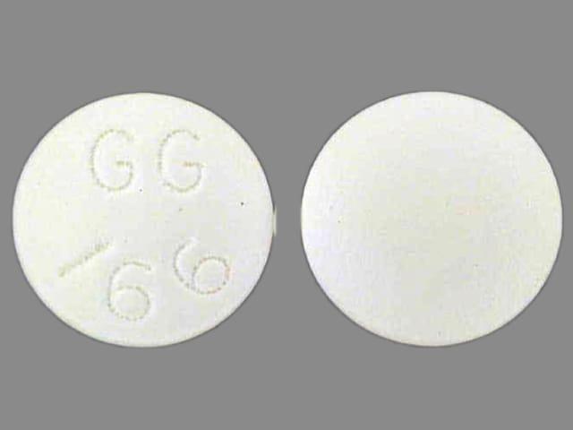 Imprint GG 166 - desipramine 75 mg