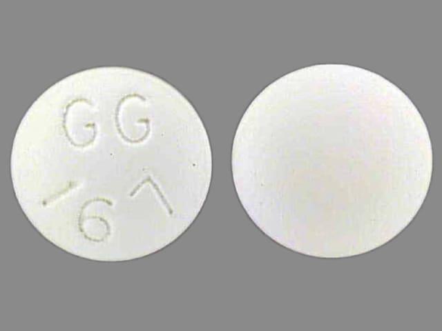Imprint GG 167 - desipramine 100 mg