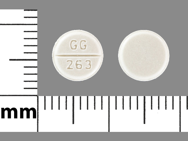 Imprint GG 263 - atenolol 50 mg