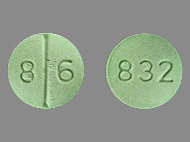 Imprint 832 8 6 - fluoxymesterone 10 mg