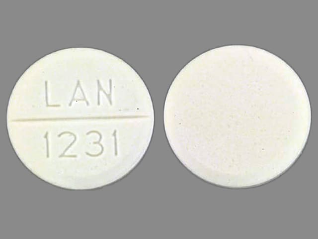 Imprint LAN 1231 - primidone 250 mg