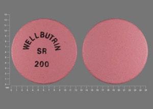 Imprint WELLBUTRIN SR 200 - Wellbutrin SR 200 mg