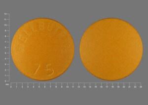 Image 1 - Imprint WELLBUTRIN 75 - Wellbutrin 75 mg