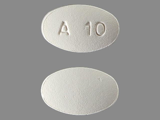 Imprint A10 - Ampyra 10 mg