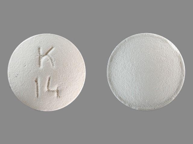 Imprint K 14 - betaxolol 20 mg