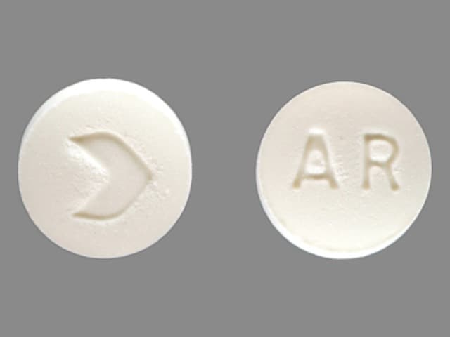Imprint > AR - acarbose 25 mg