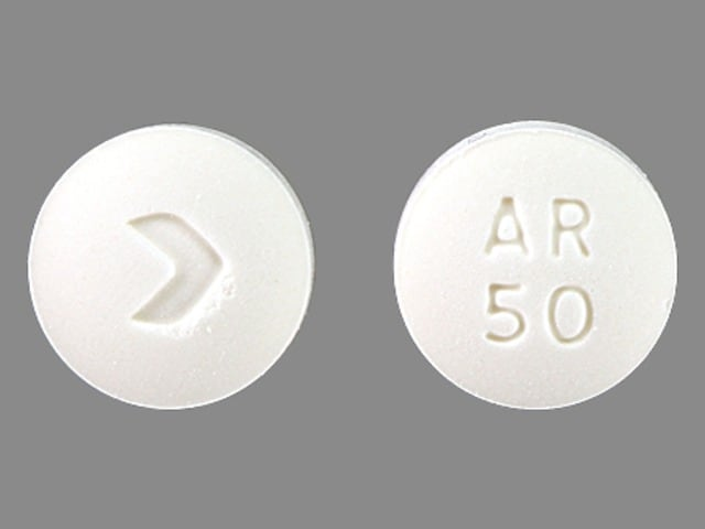 Imprint > AR 50 - acarbose 50 mg