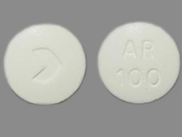 Imprint > AR 100 - acarbose 100 mg